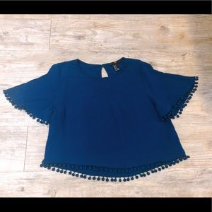 Forever 21 Navy color Blouse